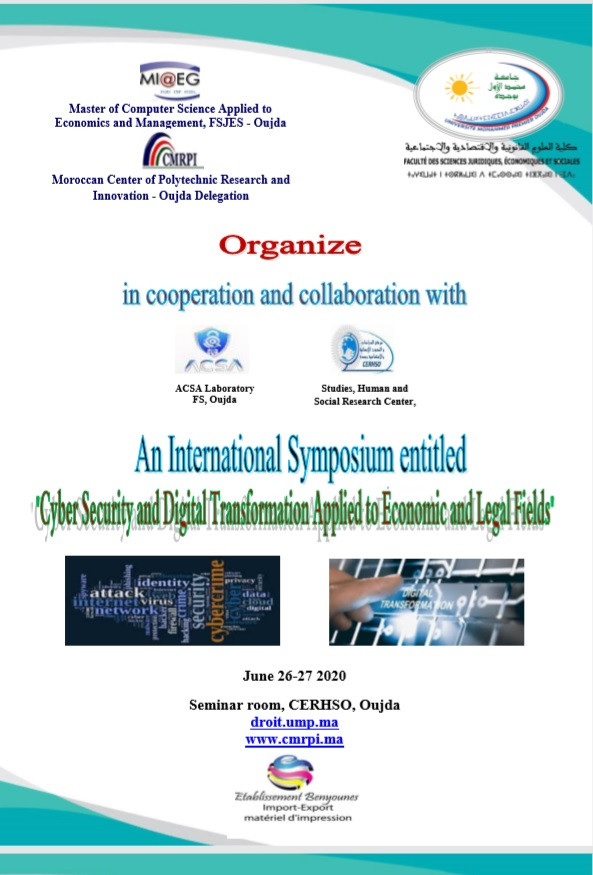 "An International Symposium entitled ""Cyber Security and Digital Transformation Applied to Economic and Legal Fields"""